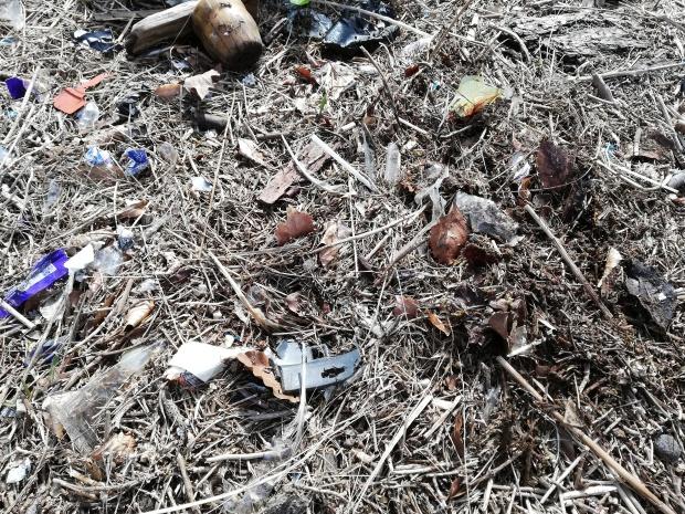 Micro Plastics on Dublin beach