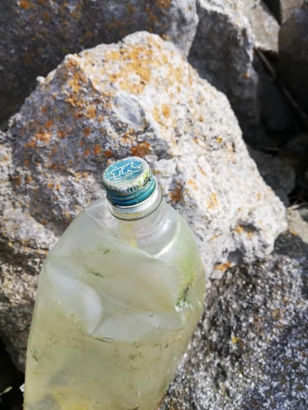 Plastic litter Dublin