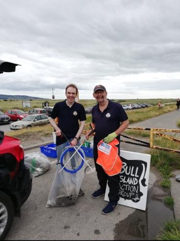 Volunteers from Dublin Boys Brigade