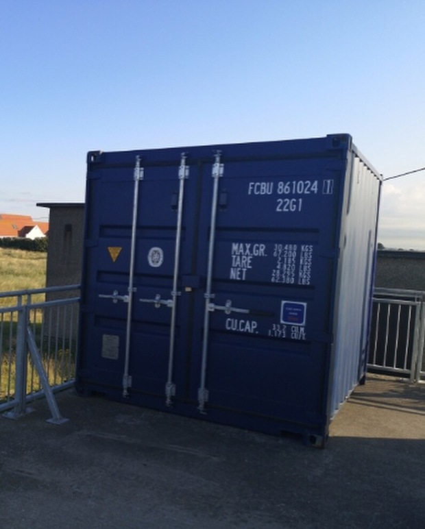 Bull Island Action Group Storage Container