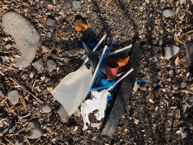 Plastics collected from the Biosphere